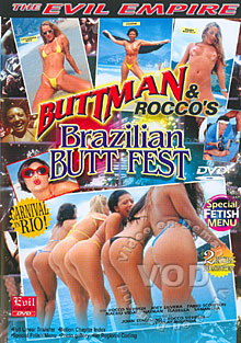 Buttman & Rocco's Brazilian Butt Fest Box Cover