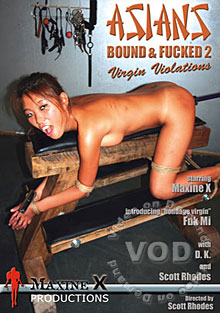 Asians Bound And Fucked 2 - Virgin Violations Box Cover