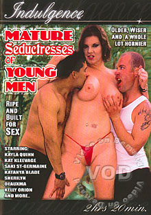 Mature Seductresses Of Young Men Box Cover