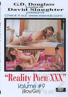Reality Porn XXX Volume #9 Box Cover