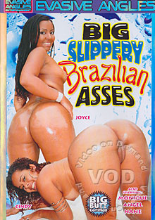 Big Slippery Brazilian Asses Box Cover