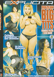 Brazilian Big Tits - Grandes Peitos E Sexo Hard! Box Cover