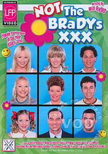Not The Bradys XXX Box Cover