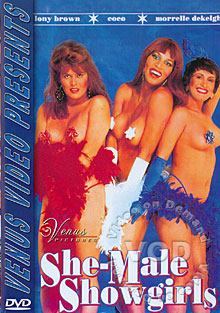 She-Male Showgirls Box Cover