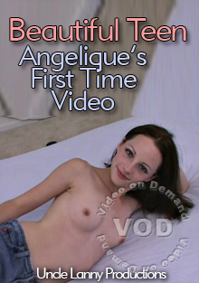 Beautiful Teen - Angelique's First Time Video Box Cover