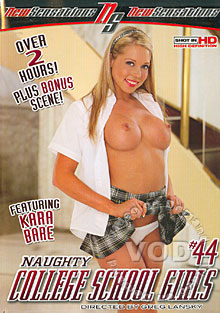 Naughty College School Girls #44 Box Cover