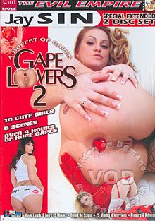 Gape Lovers 2 (Disc 1) Box Cover