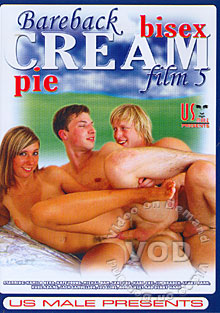 Bareback Bisex Cream Pie Film 5
