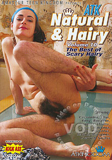 ATK Natural & Hairy Volume 10 - The Best of Scary Hairy Box Cover