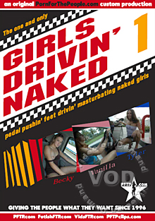 Girls Drivin' Naked 1 Box Cover