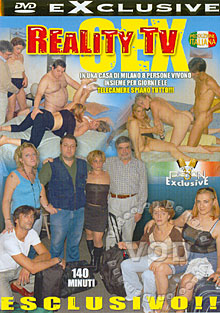 Sex Reality TV Box Cover