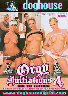 Orgy Initiations 4 - Big Tit Edition Box Cover
