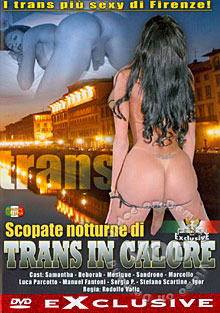 Scopate Notturne Di Trans In Calore Box Cover