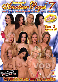 The Girls Of Amateur Pages #7 Box Cover