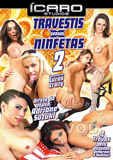 Travestis X Ninfetas 2 Box Cover