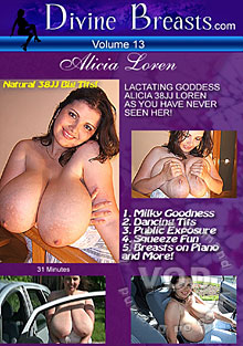 Divine Breasts Volume 13 - Alicia Loren 38JJ Cup Box Cover