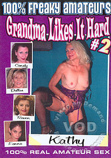 Grandma Likes It Hard #2 Box Cover