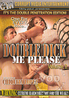 Double Dick Me Please 2 Box Cover