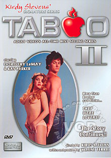 Taboo II Box Cover