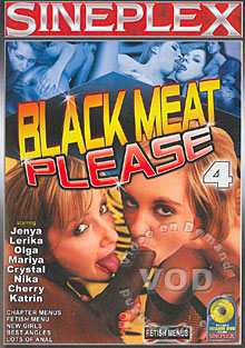 Black Meat Please 4 Box Cover