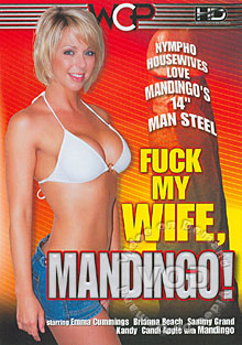 Fuck My Wife, Mandingo! Box Cover