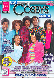 Not The Cosbys XXX - Disc One Box Cover