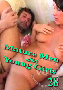 Mature Men & Young Girls 28 Box Cover