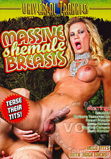 Massive Shemale Breasts Box Cover