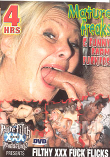 Mature Freaks & Funny Farm Fuckers Box Cover