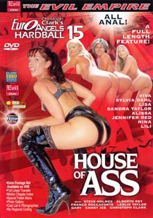Euro Angels Hardball 15 - House Of Ass Box Cover