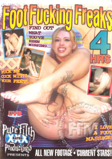 Foot Fucking Freaks Box Cover