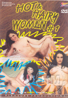 Hot & Hairy Women #1 Box Cover