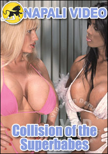Collision Of The Superbabes Box Cover