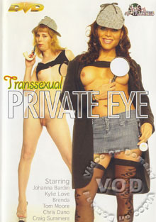 Transsexual Private Eye Box Cover