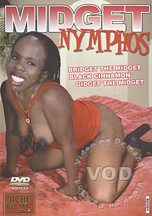 Midget Nymphos Box Cover