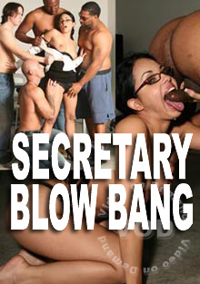 Secretary Blow Bang Box Cover