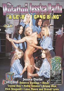The Violation Of Jessica Darlin -  A Lesbian Gang Bang Box Cover