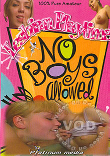 Lesbian Playtime - No Boys Allowed Box Cover