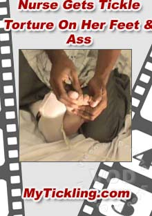 Nurse Gets Tickled On Her Feet & Ass Box Cover