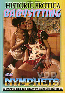 Babysitting Nymphets Box Cover