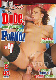 Dude, Your Girlfriend Is In A Porno! 4 Box Cover
