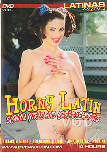 Horny Latin School Girls And Cheerleaders Box Cover