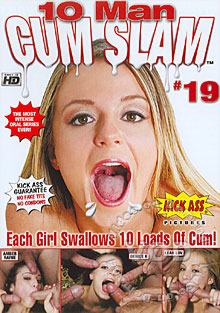 10 Man Cum Slam #19 Box Cover