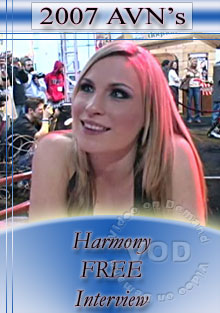 2007 AVN Interview - Harmony Box Cover