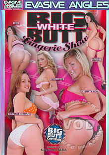 Big White Butt Lingerie Show Box Cover
