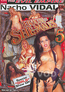 House Of She-Males 5 Box Cover
