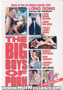 The Big Boys of Porn Box Cover