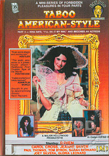 Taboo American-Style Part 3 - Nina Says, ''I'll Do It My Way,'' And Becomes An Actress Box Cover