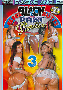 Big Black Butts 'N Phat Panties 3 Box Cover