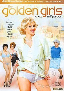 The Golden Girls - A XXX MILF Parody (Disc 1) Box Cover